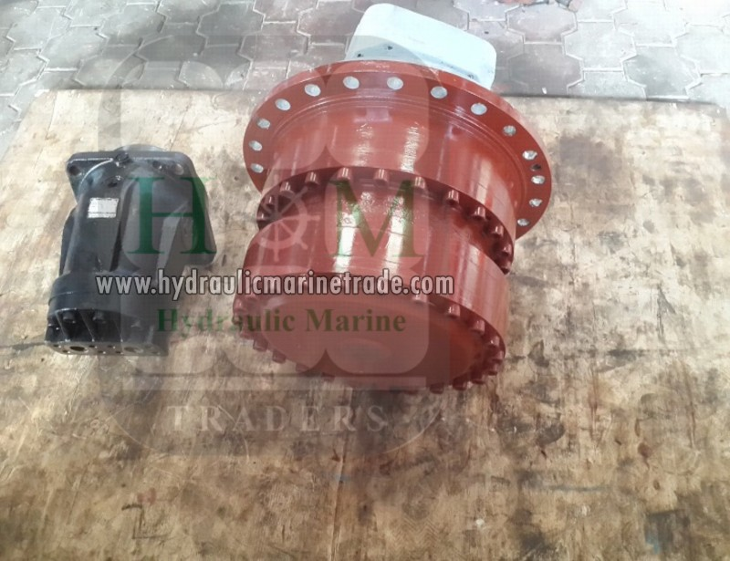 Gear Box With Hydraulic Motor.png Reconditioned Hydraulic Pump