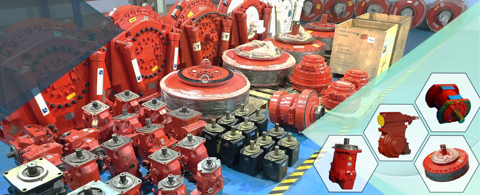 Reconditioned Hydraulic Pumps Exporter Alang